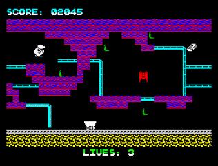 Wanted Monty Mole ZX Spectrum 22