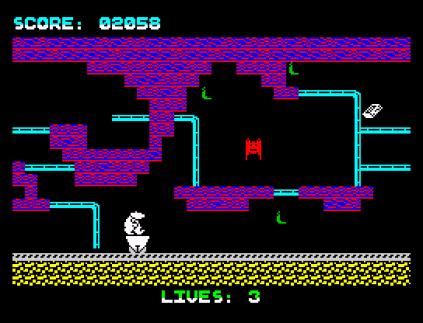 Wanted Monty Mole ZX Spectrum 23