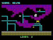 Wanted Monty Mole ZX Spectrum 25