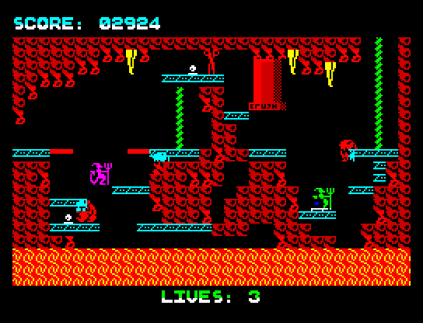 Wanted Monty Mole ZX Spectrum 31