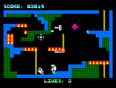 Wanted Monty Mole ZX Spectrum 33