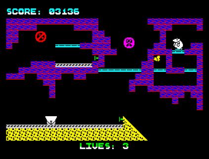 Wanted Monty Mole ZX Spectrum 34