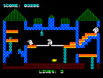 Wanted Monty Mole ZX Spectrum 36