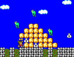 Alex Kidd in Miracle World SMS 12