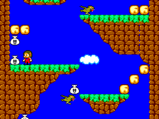 Alex Kidd in Miracle World SMS 20