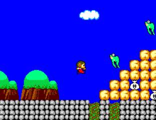 Alex Kidd in Miracle World SMS 31