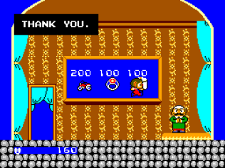 Alex Kidd in Miracle World SMS 34