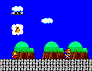 Alex Kidd in Miracle World SMS 42