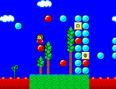 Alex Kidd in Miracle World SMS 54
