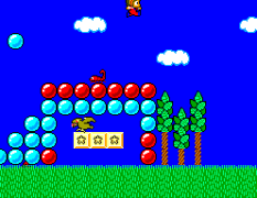 Alex Kidd in Miracle World SMS 55