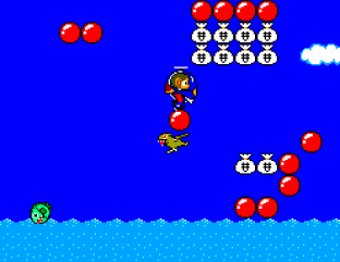Alex Kidd in Miracle World SMS 64