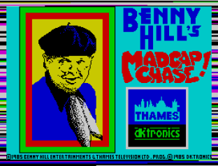 Benny Hill's Madcap Chase ZX Spectrum 01