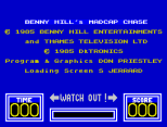 Benny Hill's Madcap Chase ZX Spectrum 02