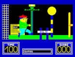 Benny Hill's Madcap Chase ZX Spectrum 03