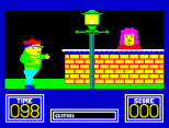 Benny Hill's Madcap Chase ZX Spectrum 05