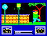 Benny Hill's Madcap Chase ZX Spectrum 06