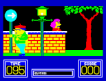 Benny Hill's Madcap Chase ZX Spectrum 08