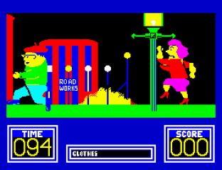 Benny Hill's Madcap Chase ZX Spectrum 09
