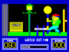 Benny Hill's Madcap Chase ZX Spectrum 10