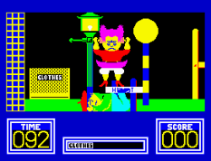 Benny Hill's Madcap Chase ZX Spectrum 11