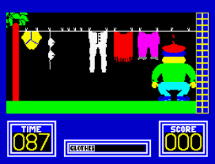Benny Hill's Madcap Chase ZX Spectrum 12