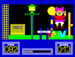 Benny Hill's Madcap Chase ZX Spectrum 13