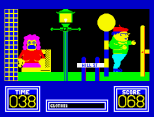 Benny Hill's Madcap Chase ZX Spectrum 16