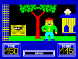 Benny Hill's Madcap Chase ZX Spectrum 19