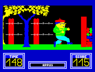 Benny Hill's Madcap Chase ZX Spectrum 20