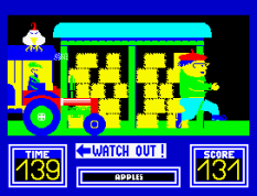 Benny Hill's Madcap Chase ZX Spectrum 21