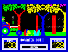 Benny Hill's Madcap Chase ZX Spectrum 22
