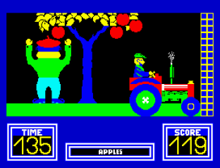 Benny Hill's Madcap Chase ZX Spectrum 23