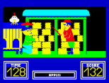Benny Hill's Madcap Chase ZX Spectrum 25