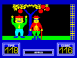Benny Hill's Madcap Chase ZX Spectrum 29