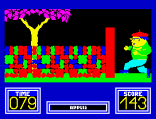Benny Hill's Madcap Chase ZX Spectrum 31
