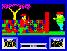 Benny Hill's Madcap Chase ZX Spectrum 32