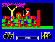 Benny Hill's Madcap Chase ZX Spectrum 33