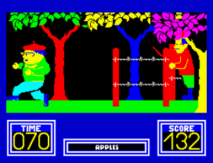 Benny Hill's Madcap Chase ZX Spectrum 34