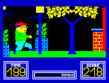 Benny Hill's Madcap Chase ZX Spectrum 38