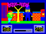 Benny Hill's Madcap Chase ZX Spectrum 39