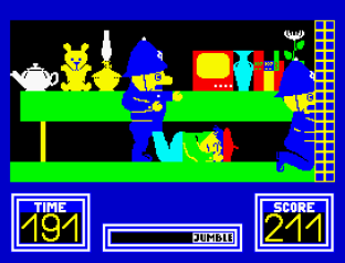 Benny Hill's Madcap Chase ZX Spectrum 42