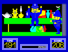 Benny Hill's Madcap Chase ZX Spectrum 43