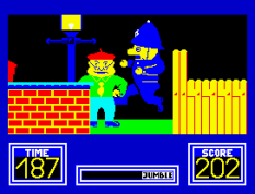 Benny Hill's Madcap Chase ZX Spectrum 44