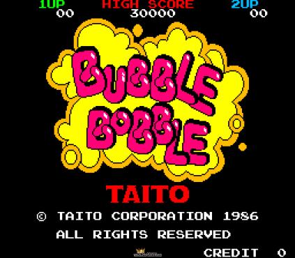 Bubble Bobble Arcade 001