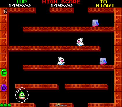 Bubble Bobble Arcade 020