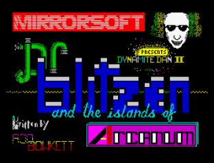 Dynamite Dan 2 ZX Spectrum 01