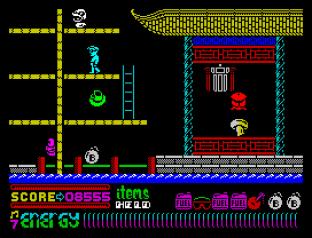 Dynamite Dan 2 ZX Spectrum 53