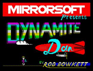 Dynamite Dan ZX Spectrum 01