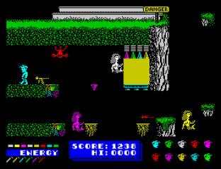 Dynamite Dan ZX Spectrum 34