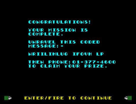 Dynamite Dan ZX Spectrum 48